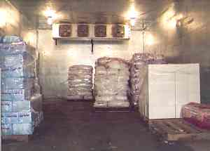Ice Storage Room & Spiffy Ice Manufacturing Cold Storage: Salt Lake City Utah